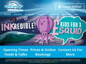Deep Sea World voucher code